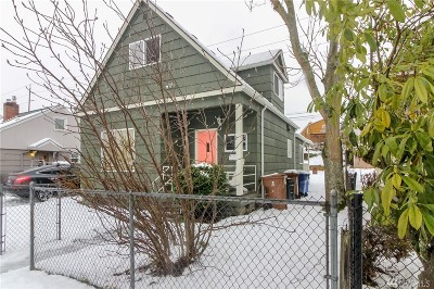 Tacoma Single Family Home For Sale: 2324 S Cushman Ave