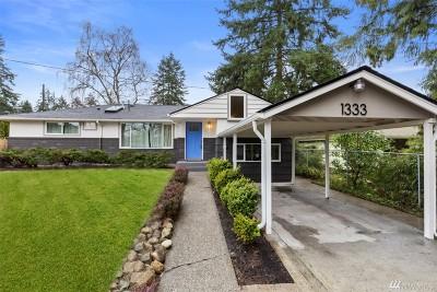 Shoreline Single Family Home For Sale: 1333 N 192nd St
