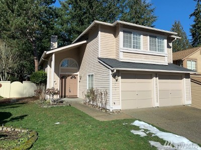 Sammamish WA Single Family Home For Sale: $745,000