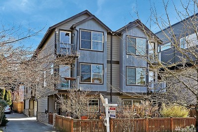 Seattle Single Family Home For Sale: 140 21st Ave E #B