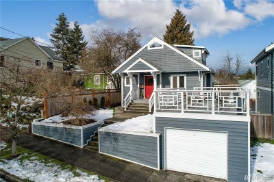 Seattle Single Family Home For Sale: 344 N 78th St
