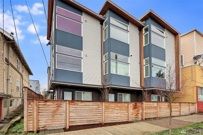 Seattle Single Family Home For Sale: 2109 14th Ave S #C