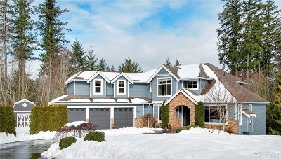Redmond Single Family Home Contingent: 28206 NE Quail Creek Dr