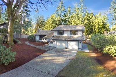 Sammamish Single Family Home For Sale: 2227 209th Place NE