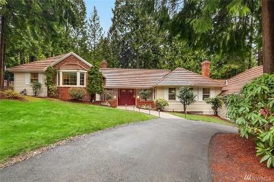 Bellevue WA Single Family Home For Sale: $1,575,000