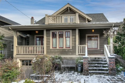 Seattle Single Family Home For Sale: 2216 Federal Ave E