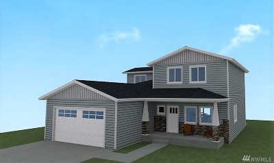 Entiat Single Family Home For Sale: 9976 Saska Wy #Lot16