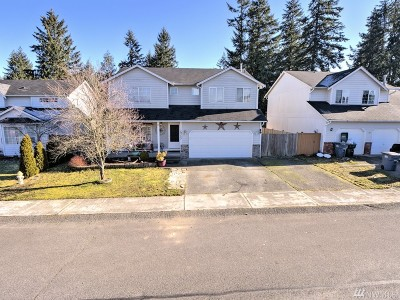 Spanaway Single Family Home For Sale: 19323 79th Av Ct S
