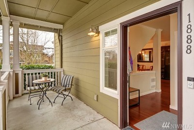 Issaquah Condo/Townhouse For Sale: 1888 17th Ave NE