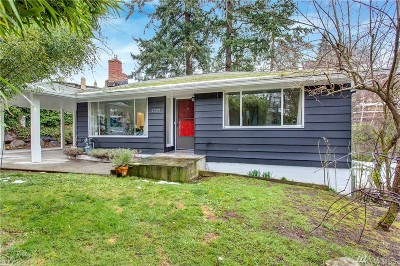 Mercer Island Single Family Home For Sale: 2522 65th Place SE