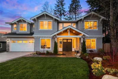 King County Single Family Home For Sale: 4821 109th Ave NE