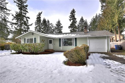 Spanaway Single Family Home For Sale: 17326 13th Ave E