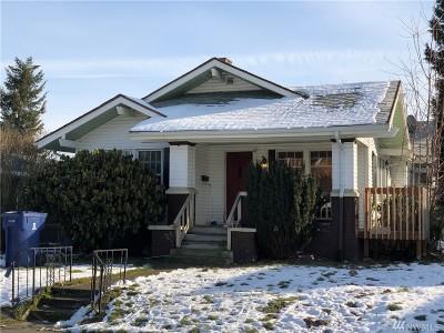 Tacoma Single Family Home For Sale: 3721 S Fawcett Ave