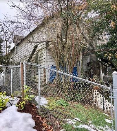 Tacoma WA Single Family Home For Sale: $130,000