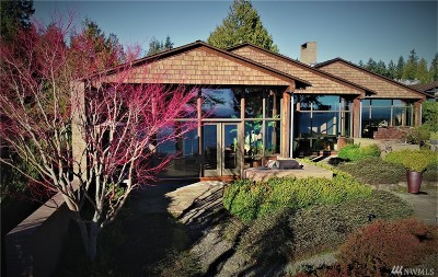 Port Ludlow WA Single Family Home For Sale: $1,075,000