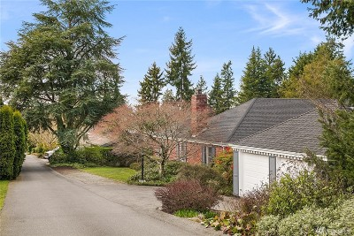 Yarrow Point Single Family Home For Sale: 3805 92nd Ave NE