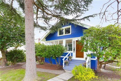 Seattle Single Family Home For Sale: 5603 46th Ave SW