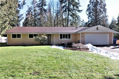 Olympia Single Family Home Pending Inspection: 4516 Frontier Dr SE