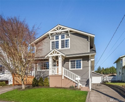 Seattle Single Family Home For Sale: 3026 NW 69th St