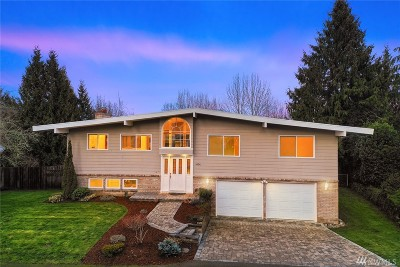 Bellevue WA Single Family Home For Sale: $1,050,000