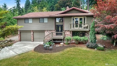 Edgewood Single Family Home For Sale: 12610 53rd St Ct E