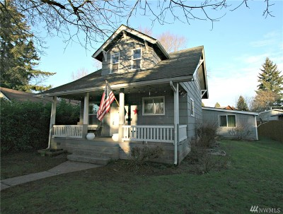 Centralia Single Family Home For Sale: 1106 K St