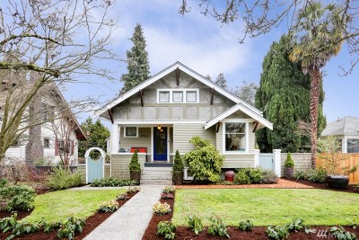Seattle Single Family Home For Sale: 5416 40th Ave SW
