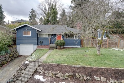Seattle Single Family Home For Sale: 10763 68th Ave S
