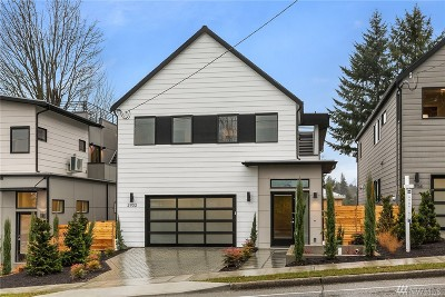 Seattle Single Family Home For Sale: 2702 NE 75th St