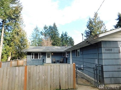 Olympia Single Family Home For Sale: 1100 Boulevard Rd SE