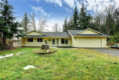 Snohomish Single Family Home For Sale: 9222 W Meadow Lake Rd