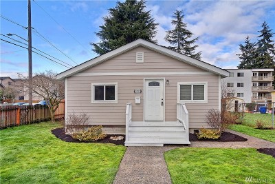 Seattle Single Family Home For Sale: 1022 SW Portland St