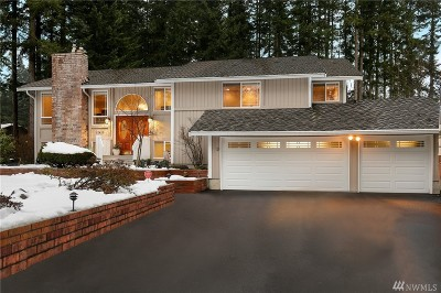 Bothell Single Family Home For Sale: 17415 5th Ave W