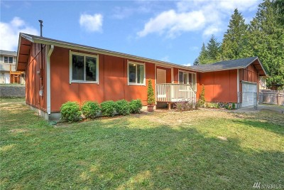 Poulsbo Single Family Home Pending: 22165 Woodward Wy NW