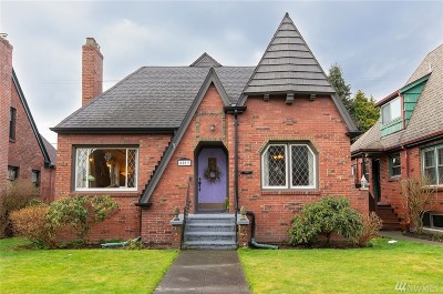 Seattle Single Family Home For Sale: 8017 Jones Ave NW
