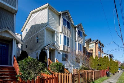 Seattle Single Family Home For Sale: 9211 Ashworth Ave N #B