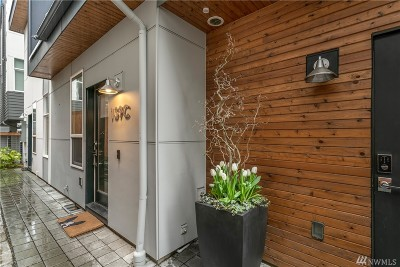 Seattle Single Family Home For Sale: 139 22nd Ave E #C
