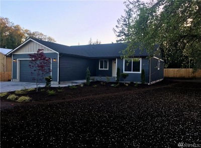 Centralia Single Family Home For Sale: 1707 Hillview Rd