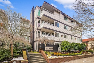 Seattle Condo/Townhouse For Sale: 2115 California Ave SW #402