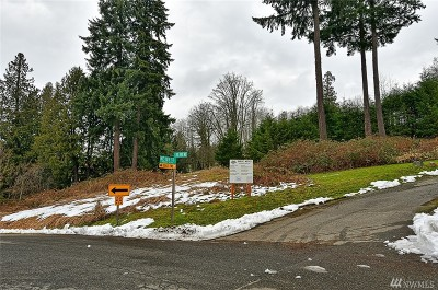 Kenmore Residential Lots & Land For Sale: 18510 83rd Ave NE
