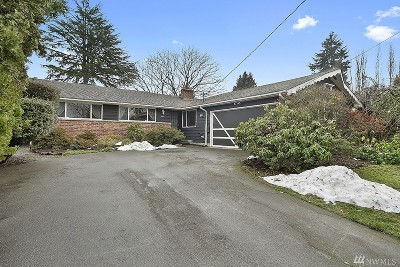Seattle Single Family Home For Sale: 5440 16th Ave SW