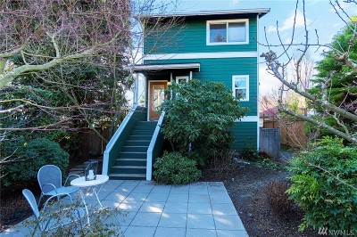 Seattle Single Family Home For Sale: 8733 18th Ave NW