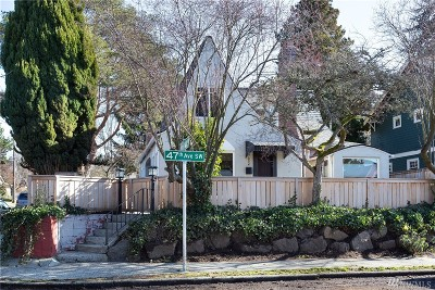 Seattle Single Family Home For Sale: 7002 47th Ave SW