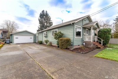 Puyallup Single Family Home For Sale: 910 7th Ave SW