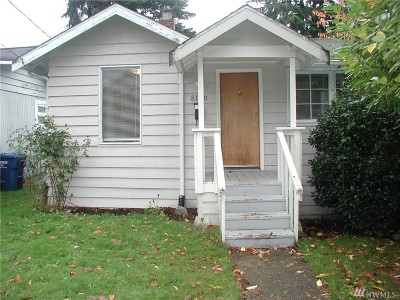 Seattle Single Family Home For Sale: 8010 Bagley Ave N