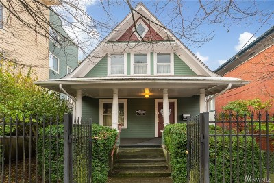 Seattle Single Family Home For Sale: 6817 Greenwood Ave N