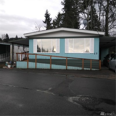 Auburn Mobile Home For Sale: 2302 R St SE #17