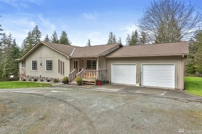 Camano Island Single Family Home Contingent: 77 N Lake Grove Rd
