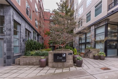 Seattle Condo/Townhouse For Sale: 2607 Western Ave #207
