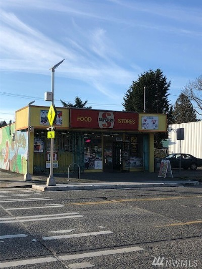Seattle Commercial For Sale: 5455 Delridge Wy SW